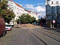 Moskevská, rekonstrukce, křižovatka s Žitomírskou.jpg