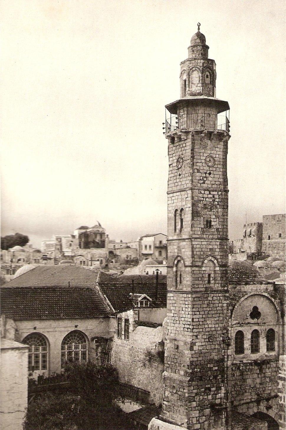 Mosque of Sidna Omar, Jerusalem (1925)