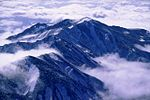 Mount Bessan from Mount Haku 2001-11-7.jpg