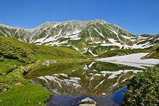 mountain in Toyama Prefecture, Japan