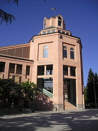 Mountain View, California - Mountain View City Hall