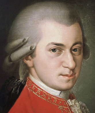 Culture of Austria - Mozart, by Barbara Krafft (1764–1825)