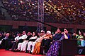 Mridula Sinha, the Union Minister for Textiles and Information & Broadcasting, Smt. Smriti Irani, Actor Shah Rukh Khan and other dignitaries.jpg