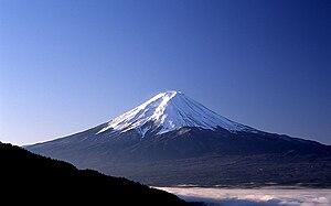 Yamanashi Prefecture - Mount Fuji from the Misaka Pass, Yamanashi