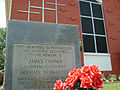 Mt. Zion Methodist Church memorial marker in Neshoba County.JPG