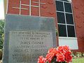 Mt. Zion Methodist Church memorial marker in Neshoba County.JPG