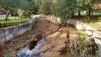 Muckinipattis Creek - Muckinipattis Creek in Secane, PA