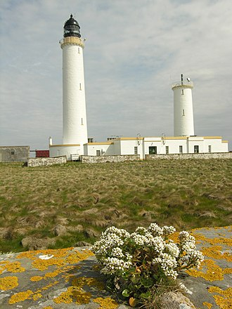 Muckle Skerry - Pentland Skerries High and Low Lighthouses