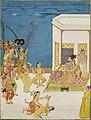 Muhammad 'Adil Shah (r.1627-56) entertained on a terrace, second half 17th century, Sotheby's.jpg