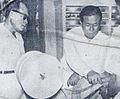 Muhammad Hatta with Djamaluddin Malik Dunia Film 1 Apr 1955 p8.jpg