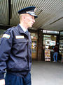 Municipal policeman of the city of Valjevo.JPG
