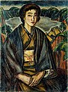 Murayama Kaita - Lake and Woman.jpg