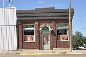 National Register of Historic Places listings in Jones County, South Dakota - Image: Murdo SD Murdo State Bank