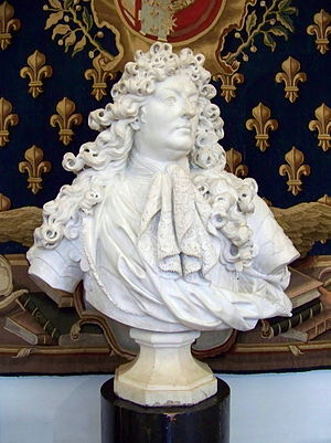 image of English: Bust of Louis XIV