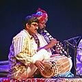 """Musiciens de lensemble Divana, Spectacle """"A la rencontre des poètes et musiciens du Rajasthan (Inde du nord)"""", Festival Les Orientales (Saint-Florent-Le-Vieil).jpg"""