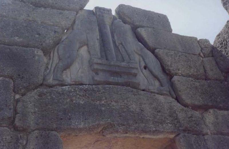 File:Mycenae lion gate.jpg