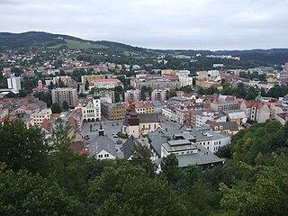 Town in Hradec Králové, Czech Republic