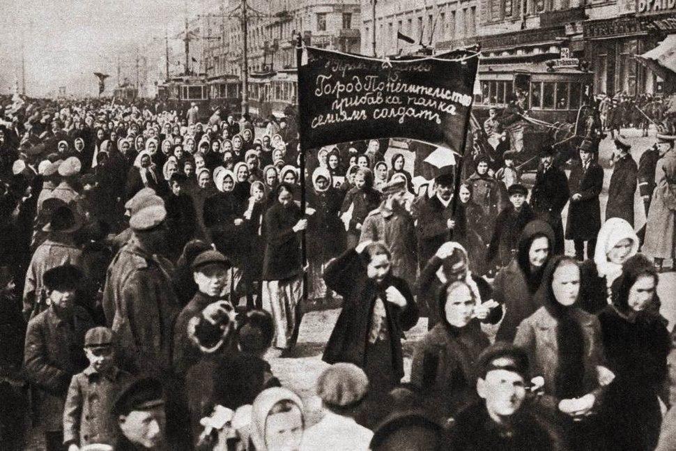 Nőnap - Petrográd, 1917.03.08