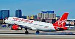 "N622VA Virgin America 2006 Airbus A320-214 serial 2674 ""california dreaming"" (24362417796).jpg"