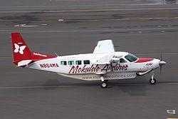 N864MA Cessna 208B Mokulele HNL 18DEC08 (3160949087).jpg