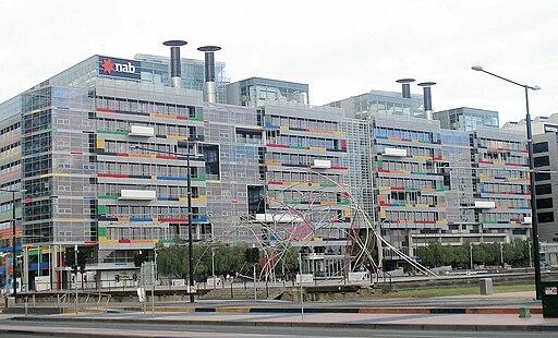 NAB building in Melbourne