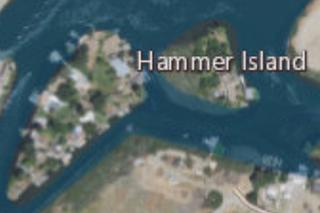 Hammer Island Island in California