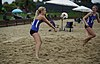 NCAA beach volleyball match at Stanford in 2016 (26382186262).jpg