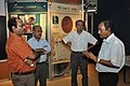 NCSM Personnel Discussing With Kalyan Kumar Mukherjee - Jagadish Chandra Bose Museum - Bose Institute - Kolkata 2011-07-26 3997.JPG