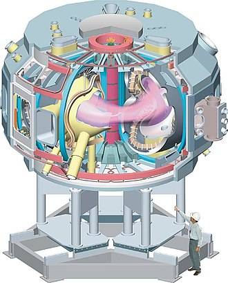 National Compact Stellarator Experiment - Design drawing of NCSX