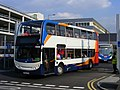 NK60 DPO - Stagecoach in Newcastle 19682 (Stagecoach Event) Enviro 400. Olympic games Media Mall bus station. (7754117842).jpg