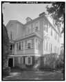 NORTHWEST SIDE - William Seabrook House, County Road 768, Edisto Island, Charleston County, SC HABS SC,10-EDIL,2-7.tif