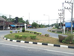 Khok Pho District - Na Ket in 2016.