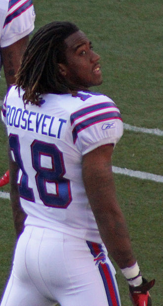 Naaman Roosevelt - At a pre-season game in Denver in August, 2011.