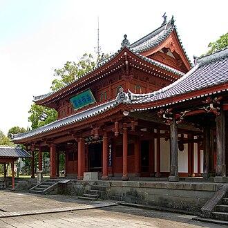 Sōfuku-ji (Nagasaki) - Great Leader's Hall, a National Treasure