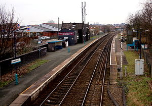 Nantwich railway station - Nantwich railway station