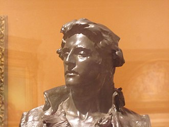 Nathan Hale - Nathan Hale as depicted in bronze (1890) by Frederick William MacMonnies at the Brooklyn Museum