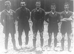 History of soccer in the United States - Players of Stix, Baer and Fuller, who were dominant in the Challenge Cup in the 1930s
