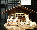 "National Museum of Ethnology, Osaka - Christmas figurines ""Nativity scene"" - Germany - Collected in 1999.jpg"