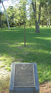Navy League Australia Trafalgar oak 21-10-2005