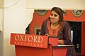 Neelanjana Dey - Introductory Address - Wikilearnopedia - Oxford Bookstore - Kolkata 2015-08-23 3490.JPG