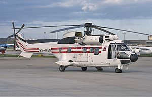 Nepal Royal VVIP Flight Aerospatiale AS-332L1 Super Puma Watt.jpg