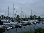 Nepean Sailing Club marina and sailboats August 2012.jpg
