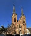 Neuottakringer Pfarrkirche - Außenfassade von vorne.jpg