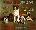 New England Kennel Club bench show, promotional poster, ca. 1890.jpg