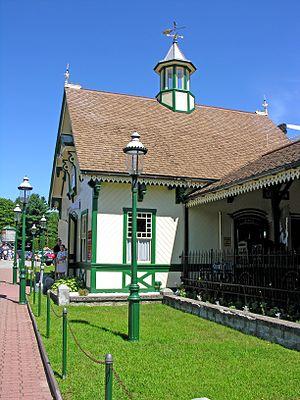 White Mountain Central Railroad - Clark's Trading Post