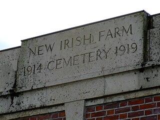 New Irish Farm Commonwealth War Graves Commission Cemetery