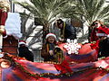 New Orleans Christmas Parade Beads 2009.jpg