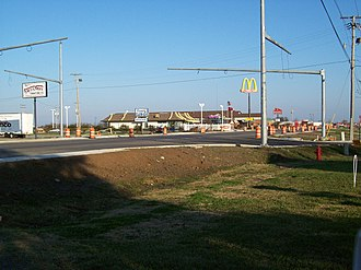 Lake Village, Arkansas - Image: New Stoplight in Lake Village