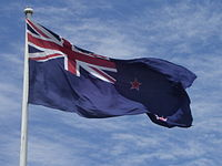 New Zealand flag at Auckland Airport.jpg