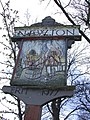 Newton Village Sign, detail - geograph.org.uk - 749830.jpg